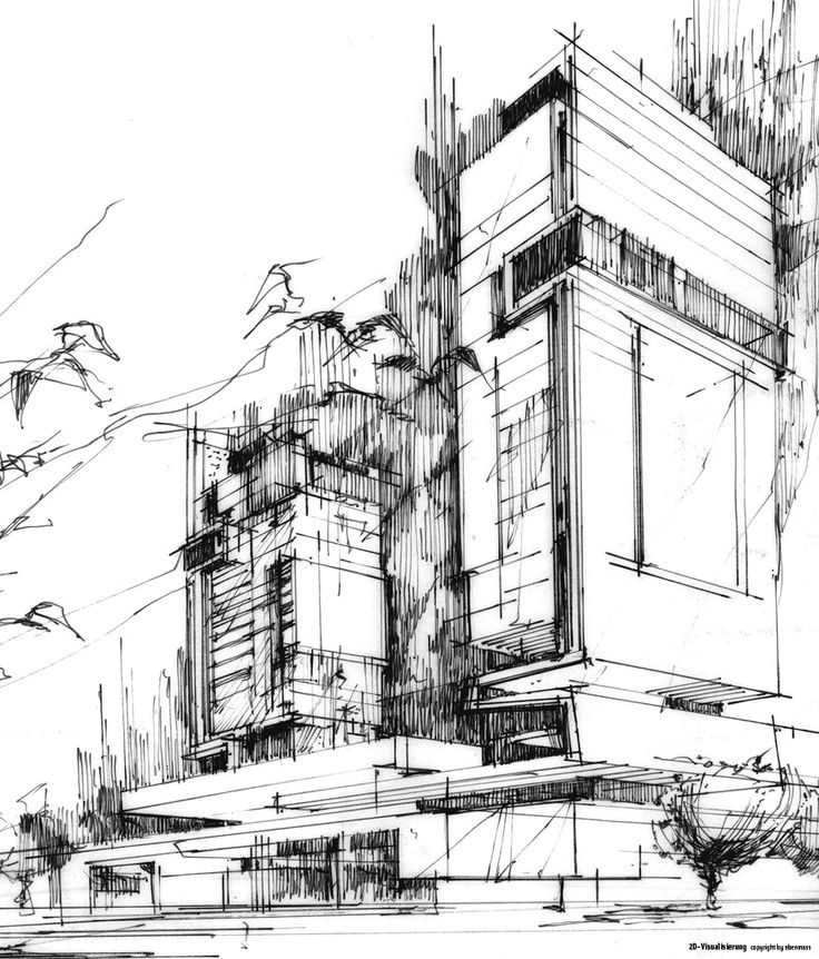 166 besten architectural sketchs bilder auf pinterest zeichnen architekt zeichnung und grafiken. Black Bedroom Furniture Sets. Home Design Ideas