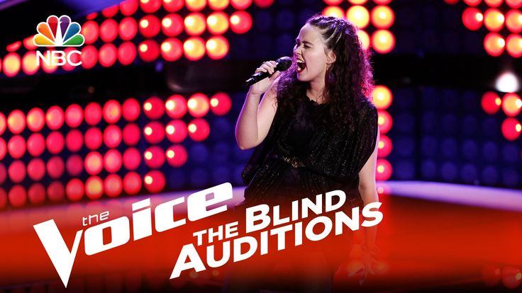 """The Voice 2015 Blind Audition - Hannah Kirby: """"The Letter"""""""