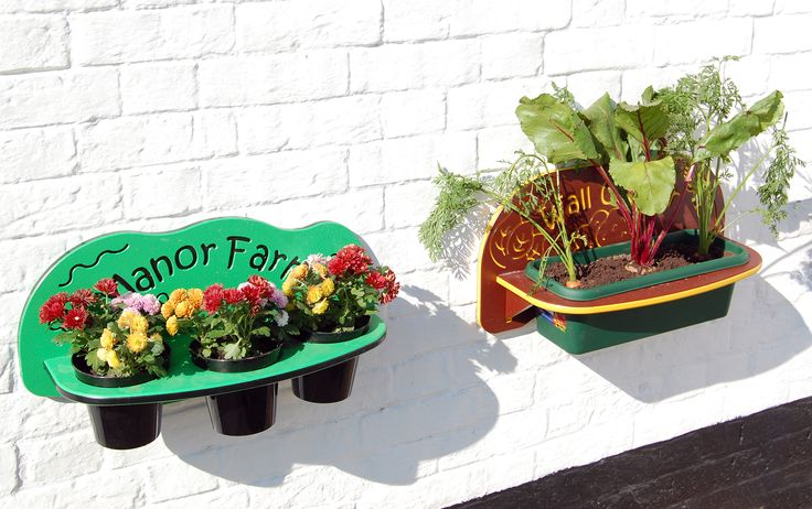 planters are perfect for teaching little ones about how to grow and look after living things