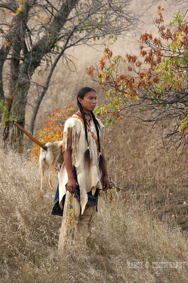 South Dakota Native American Artists | ... Native American Sioux Indian boy standing on a hill in South Dakota