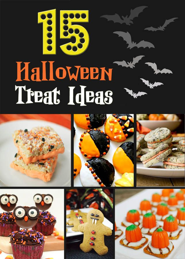 15 Halloween Treat Ideas