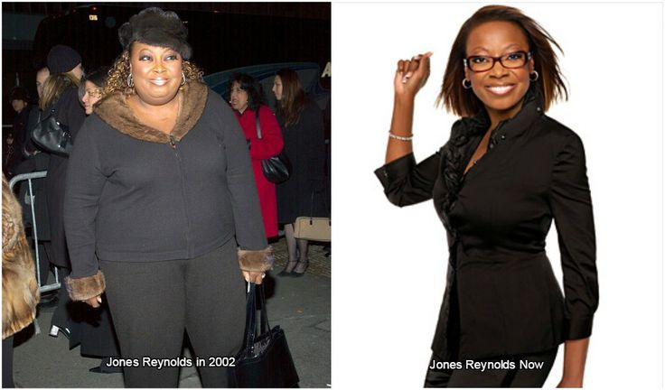 Star Jones Reynolds body before operation and after it