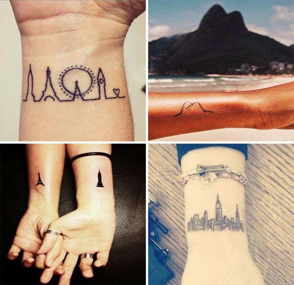 Tatuagens para quem ama viajar 2