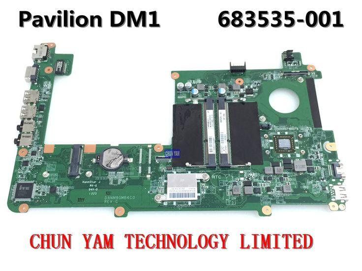 Original 683535-001 FOR HP PAVILION DM1 dm1-4000 Laptop Motherboard DANM9GMB6C0 REV:C Mainboard 90Days Warranty 100% tested