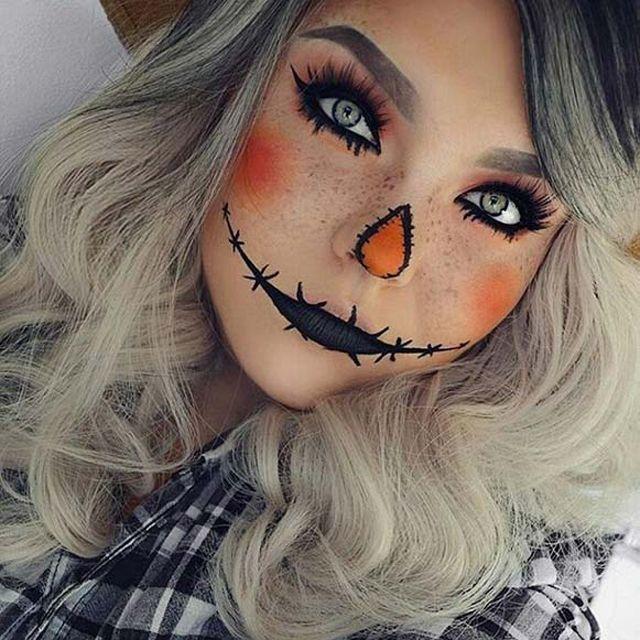 Idei de make-up de Halloween pe care le poti aplica si tu - http://www.stilulmeu.com/idei-de-makeup-halloween/