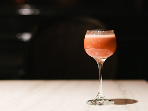 Treat your date like royalty with The Dutchess cocktail, made with fresh pineapple and a long pour of Angostura bitters.
