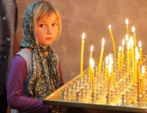 Το καντήλι της Παναγίας και η χήρα με τα πέντε παιδιά