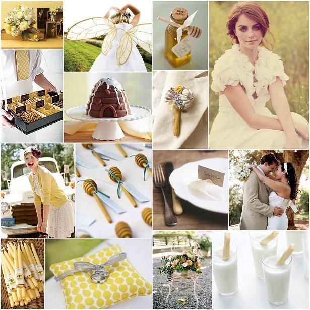 Country Honey Wedding Theme
