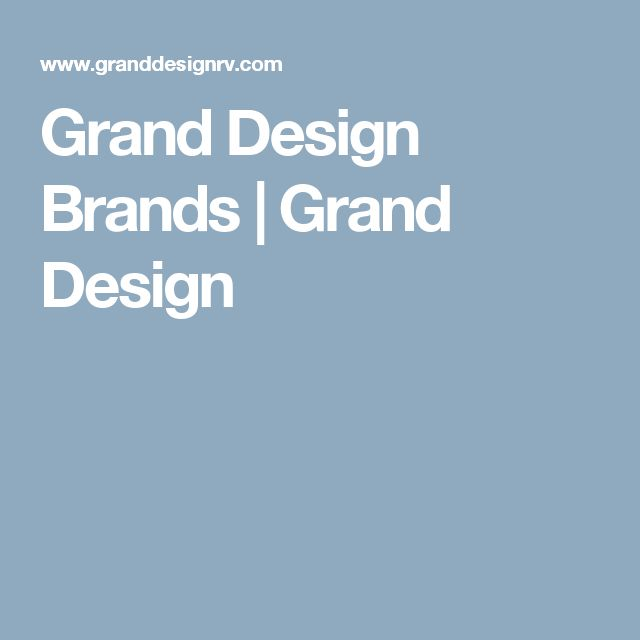 Grand Design Brands | Grand Design