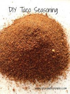 DIY Taco Seasoning Recipe
