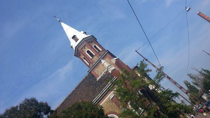 Baross utca, templom