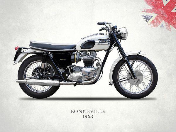 Vintage Triumph Bonneville T120 Motorcycle Camiseta