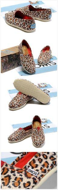 Toms Classic Shoes Canvas Women Leopard  #TOMS shoes #shoes #fashion #beauty $17.59