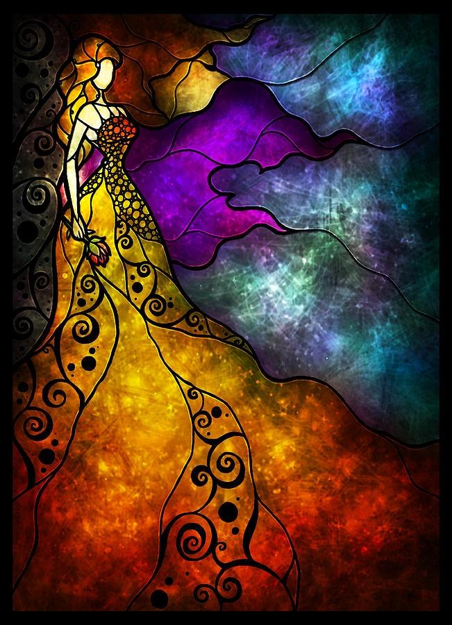 Beautiful... art by Mandie Manzano