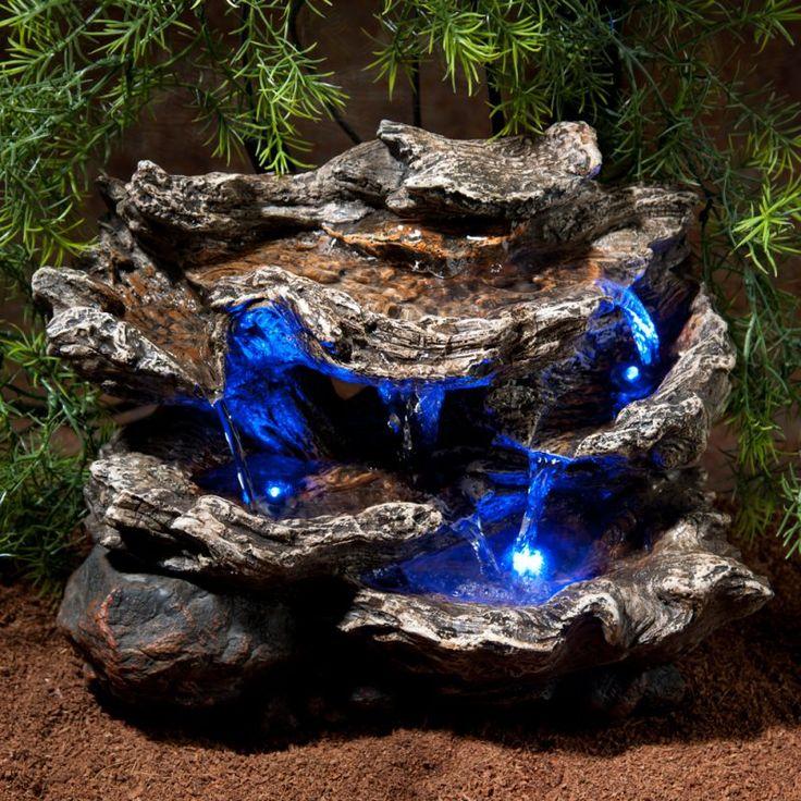 Blaue Licht Aquarium Einrichtungsbeispiele