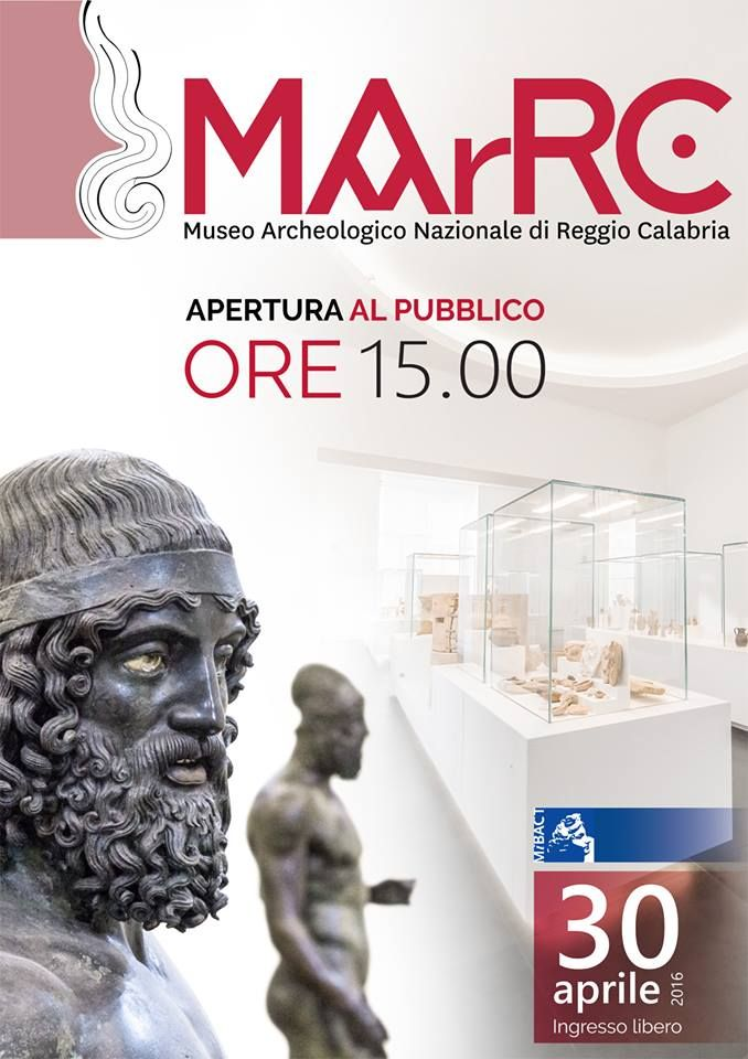 Inaugurazione del Museo Archeologico Nazionale di Reggio Calabria