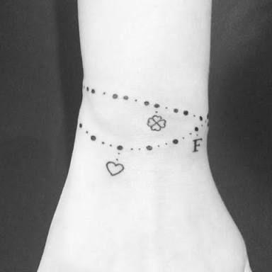 Risultati immagini per tatuagens pulseira