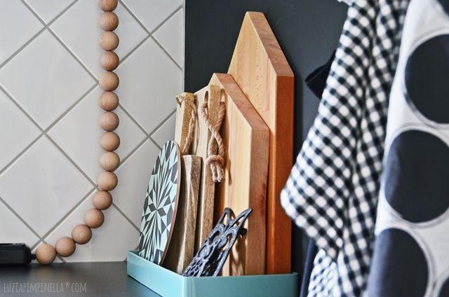 DIY holzkugel verlängerungskabel in unserer neuen küche | luzia pimpinella