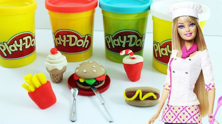 Today we will make doll fast food using Play Doh. I know Play Doh is not intended to be baked in an oven but being so curious I had to try it. So this is my...