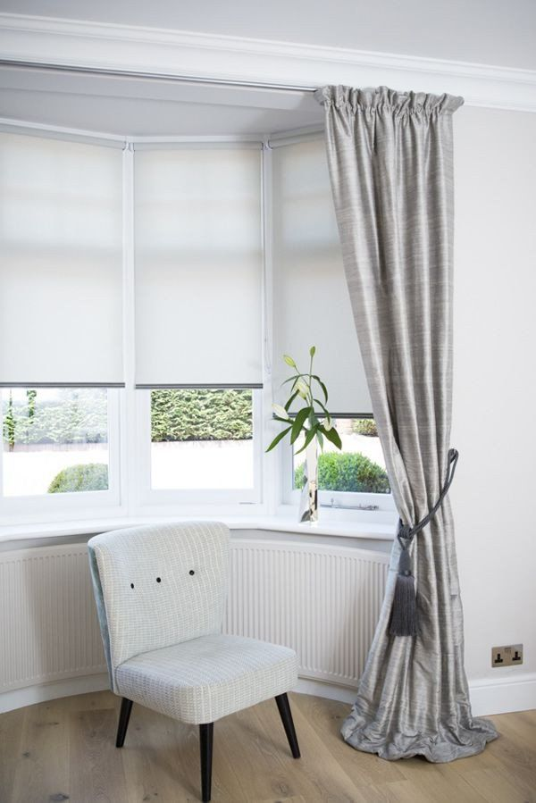 Curtain For Bay Windows Bedroom Sukro Info Living Room Blinds Bay Window Living Room Curtains Living Room
