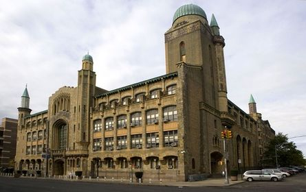 Yeshiva University  is a private institution that was founded in 1886. It has a total undergraduate enrollment of 2,869 and its setting is urban. It utilizes a semester-based academic calendar. Yeshiva University's ranking in the 2014 edition of Best Colleges is National Universities, 47. Its tuition and fees are $37,600 (2013-14).