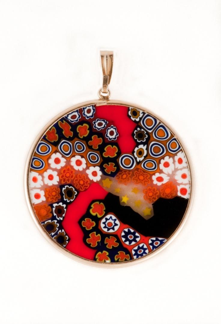 69 best murano images on pinterest murano glass glass jewelry millefiori pendant venetian glassmurano mozeypictures Images