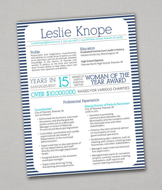 80 best Resumes \ Cover Letters images on Pinterest Gym - recreation officer sample resume