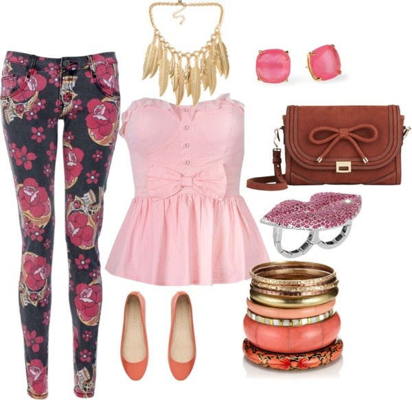 """Flower"" by theereemo on Polyvore"