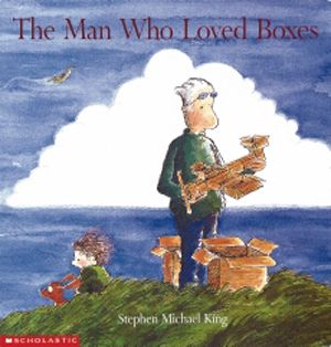 The Man Who Loved Boxes - It was a terrific book for reminding us that love is so much more than those three little words.