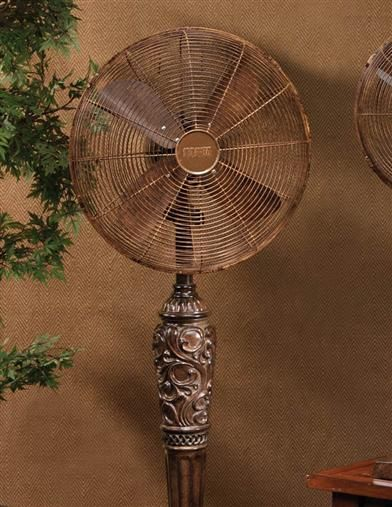 Charming ORNAMENTAL FLOOR FAN AVAILABLE AT VICTORIANTRADINGCO.COM