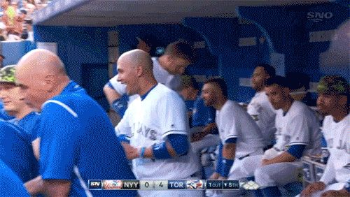Hugs for Tulo, courtesy of Goins :)