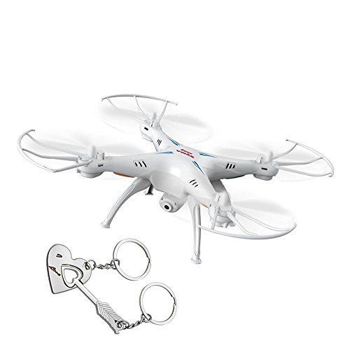 Product Description  Package list:  1 * Syma X5SW hexacopter  1 * Transmitter (mode 2 left hand throttle)  1 * 3.7V 500mAh lipo battery  2 * Pairs spare propellers  1 * Screwdriver  1 * USB charger c...