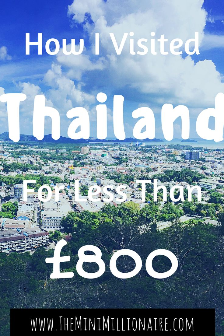 Helen and I visited Thailand in May 2016. Many people say that Thailand is no longer a budget destination however in this post let me show you How I visited Thailand for less than £800 and see then if you disagree?