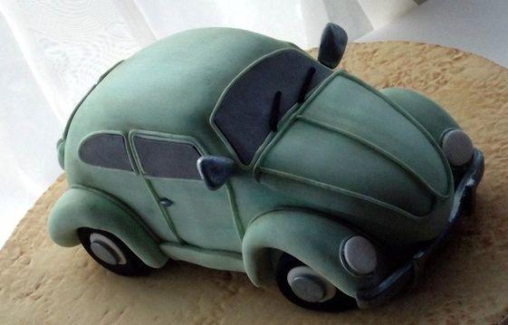 Cake Decorating Classes Workshops in Hampshire Portsmouth UK South Coast Gosport Southampton. - Classic Beetle     Tutorial