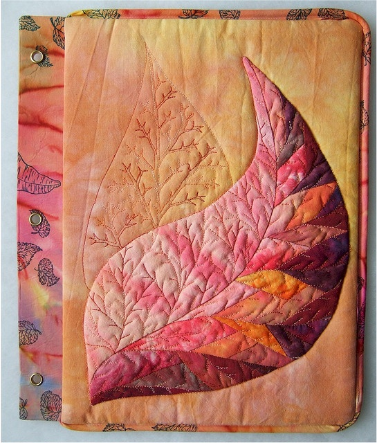 Book Cover Watercolor Quilt : Best ideas about fabric book covers on pinterest