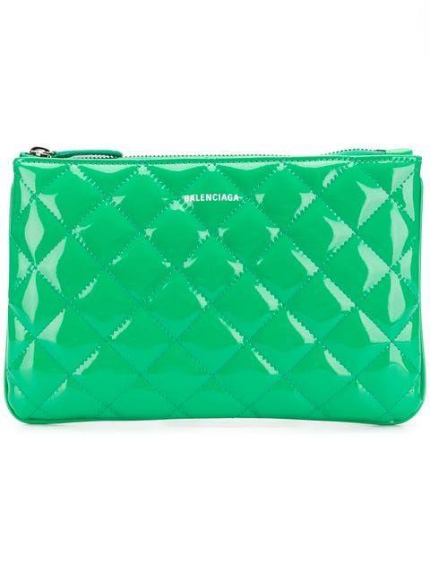 932c03fb01d3 Balenciaga Ville M Quilted Pouch in 2019 | wallets pouches , clutches etc.  | Pouch, Balenciaga, Bags