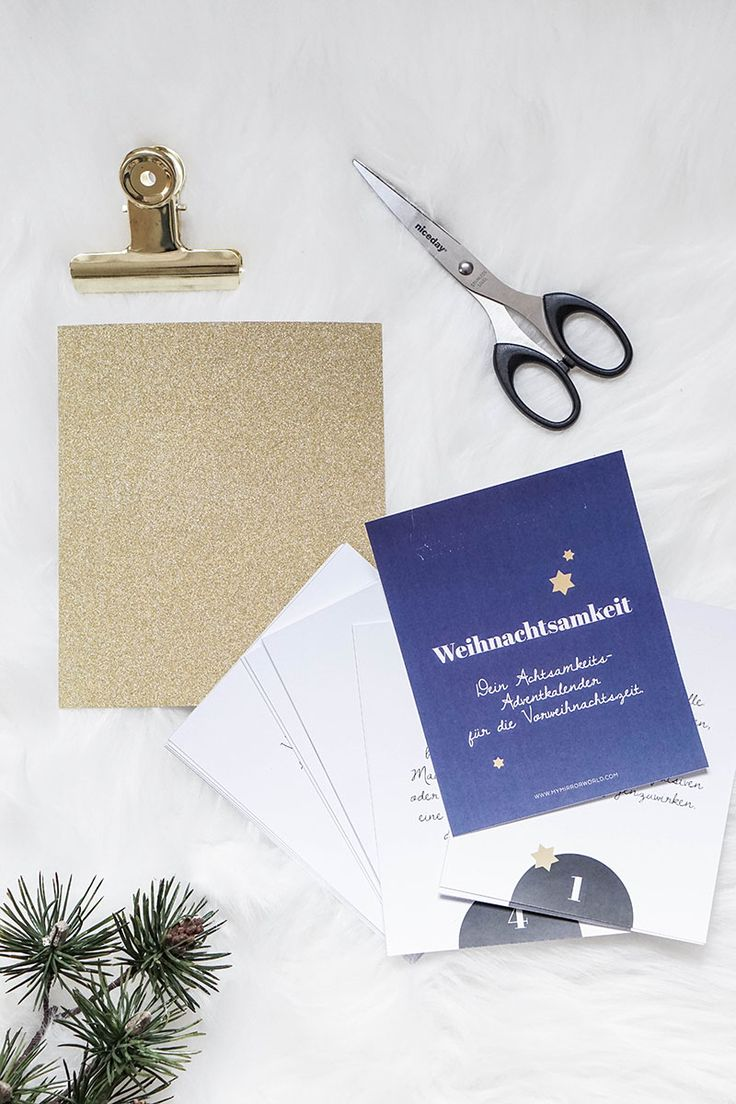 DIY Mindfulness Advent Calendar