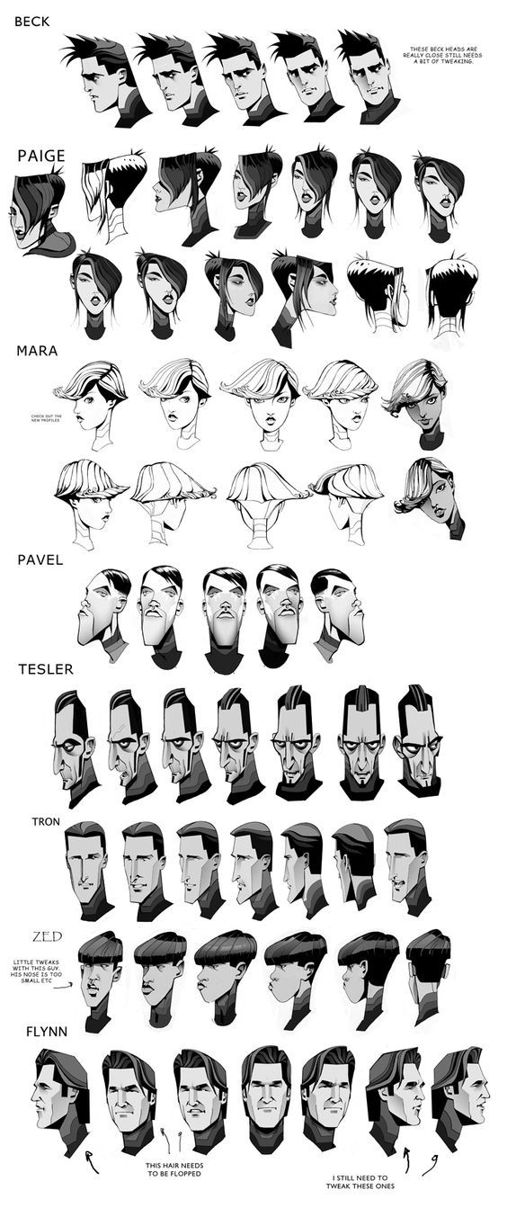 tron uprising heads - robert valley ✤ || CHARACTER DESIGN REFERENCES…