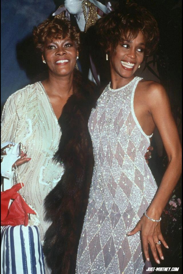 Dionne Warwick and Whitney
