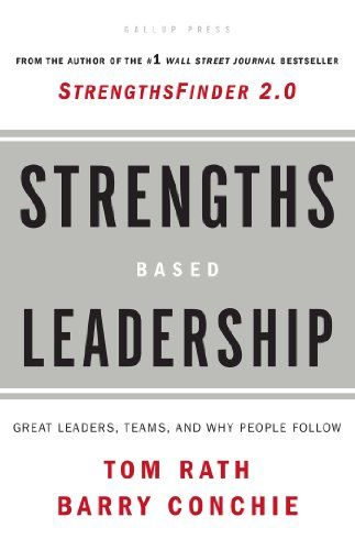 Strengths Based Leadership: Great Leaders, Teams, and Why People Follow: A Landmark Study of Great Leaders, Teams, and the Reasons Why We Follow von Tom Rath http://www.amazon.de/dp/1595620257/ref=cm_sw_r_pi_dp_-uaDvb1NKB34W