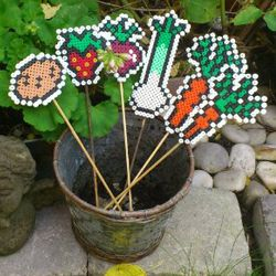Create fun signs to your garden with NABBI Beads
