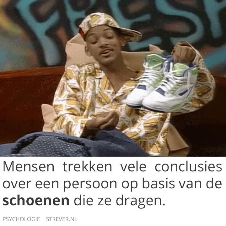 Mensen trekken vele conclusies over een persoon op basis van de #schoenen die ze dragen.