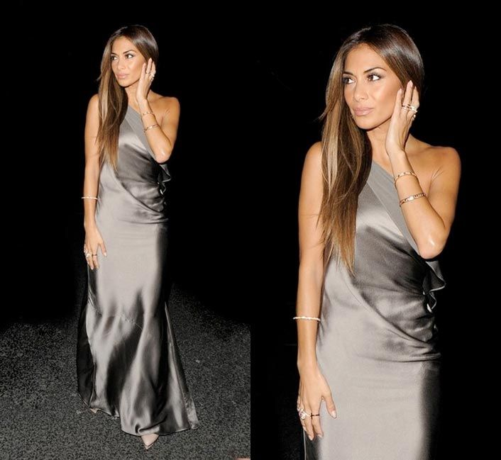 Nicole Scherzinger wearing Folli Follies Carma ring.
