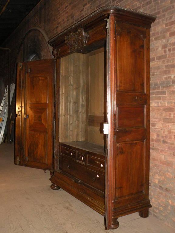 Barokk szekrény, antik bútor