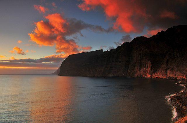 222 - Tenerife Los Gigantes at Sunset | Flickr: Intercambio de fotos