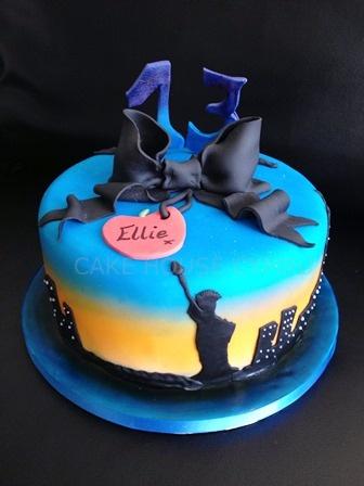 13th Birthday Cake - #New York Themed Cake