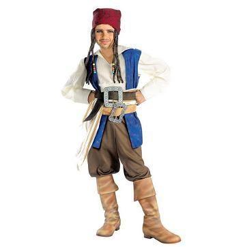Новогодние костюмы для мальчиков пираты капитан джек воробей