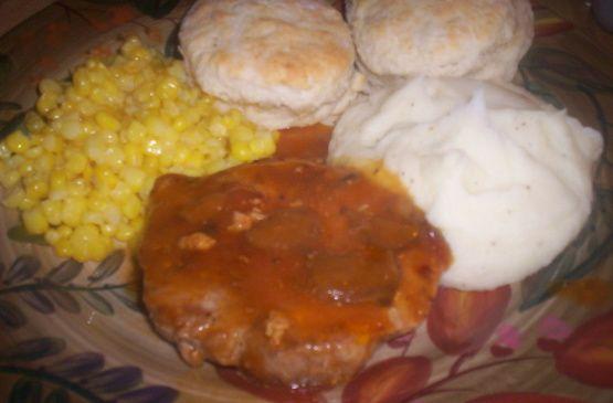 Campbells Golden Mushroom Soup Pork Chops Recipe - Food.com