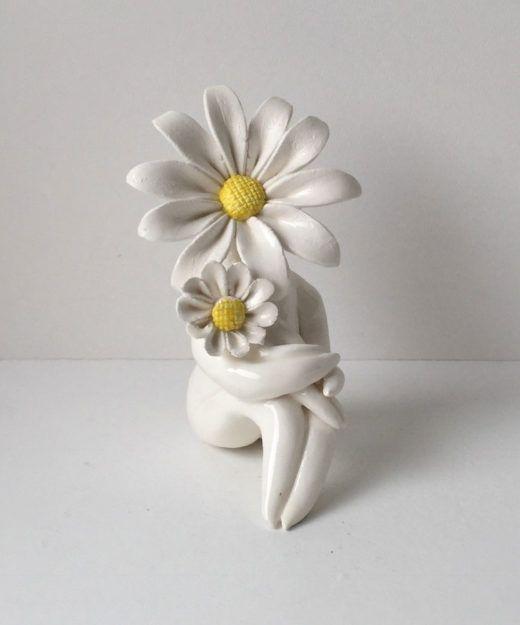 Miss Daisy Mum Flower Sculpture