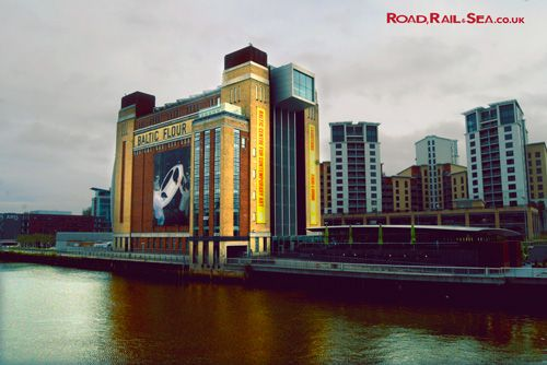 The Baltic arts centre, Newcastle, United Kingdom. Travel to Newcastle in just 3 hours by train or stay overnight before catching the ferry to Amsterdam with DFDS.